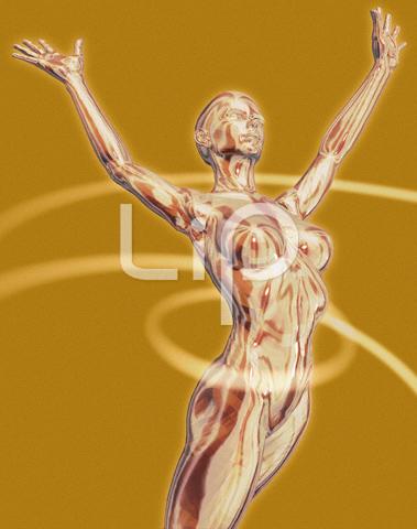 躍動する人物44(女性編)