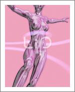 躍動する人物62(女性編)