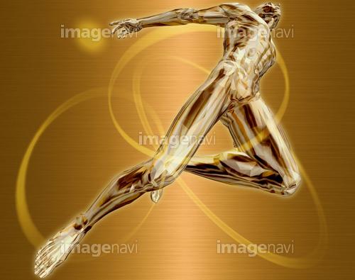 躍動する人物51(男性編)銅