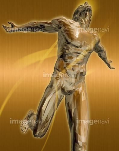 躍動する人物52(男性編)銅