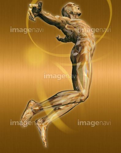 躍動する人物54(男性編)銅
