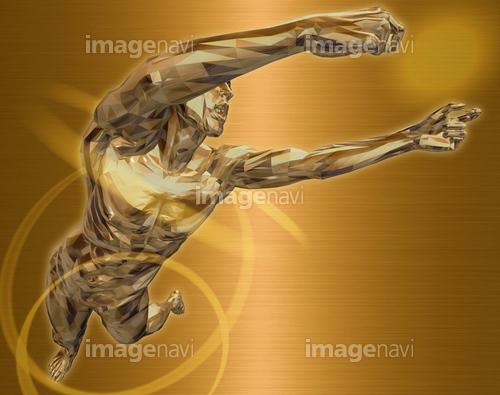 躍動する人物55(男性編)銅