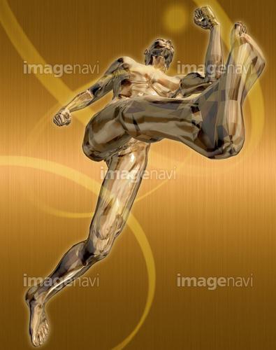 躍動する人物57(男性編)銅