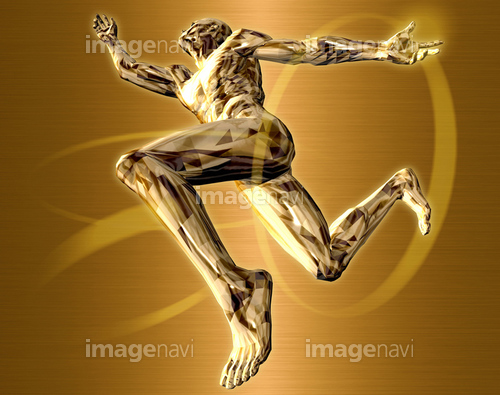 躍動する人物58(男性編)銅