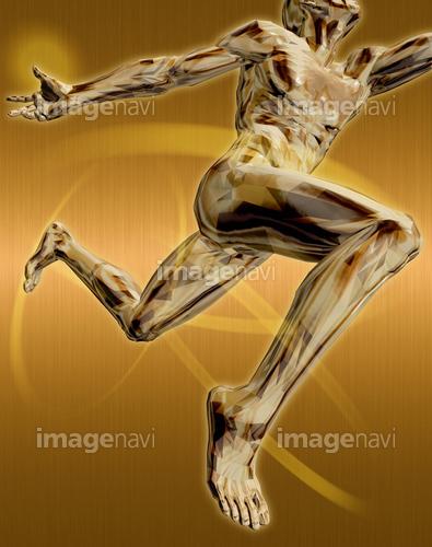 躍動する人物59(男性編)銅