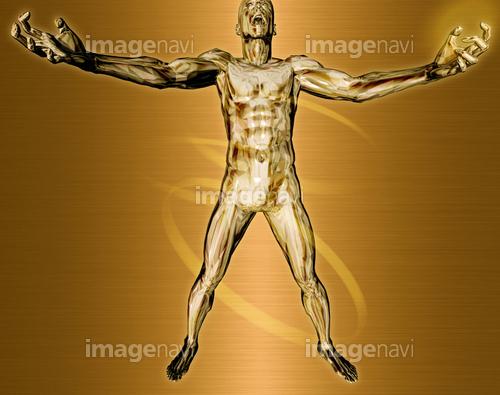 躍動する人物60(男性編)銅
